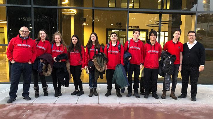 BJK - Kabataş Vakfı Özel Lisesi Öğrencileri Karapınar İlkokulunda…